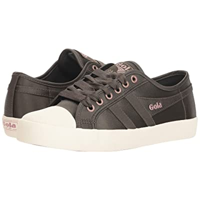 Gola Coaster Satin (Khaki/Off-White) Women