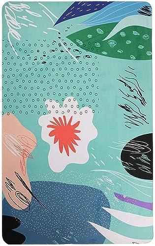 Blanket Laver et Passer l'aspirateur Tapis Moderne Minimaliste à l'encre Abstraite Café Lounge Chambre à Coucher Tapis rectangulaire Accueil Tapis Quotidien,150  230cm,  2