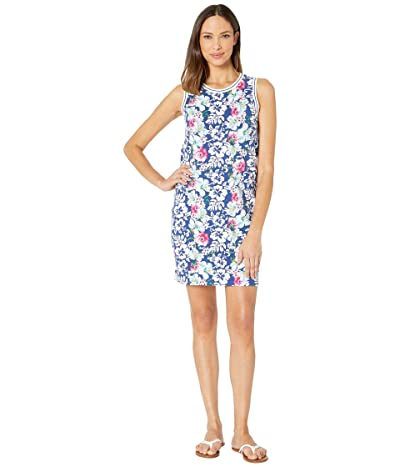 Tommy Bahama Mrs. Lava Lava Sleeveless Dress (Monaco Blue) Women