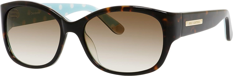 Juicy Couture Sunglasses  551 S   Frame  Dark Havana Dot Lens  Brown Gradient