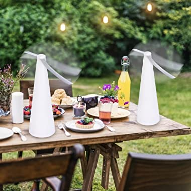 PIAOPIAONIU 3 pcs Fly Fan for Tables Insects Fan Fly Portable Table Fan for Outdoor Indoor Keep Flies Away from Your Food