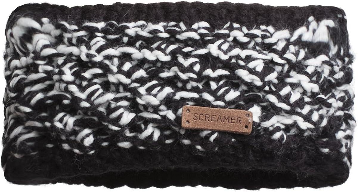 Screamer Women's Sherelle Headband, Black/White, One Size