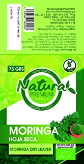 Natura Premium Moringa - Hoja Seca Kraft Bio 75 g