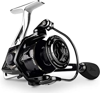 KastKing Megatron Spinning Reel, Great Saltwater Spinning Fishing Reel, Rigid Aluminum Frame 7+1 Double-Shielded Stainless...