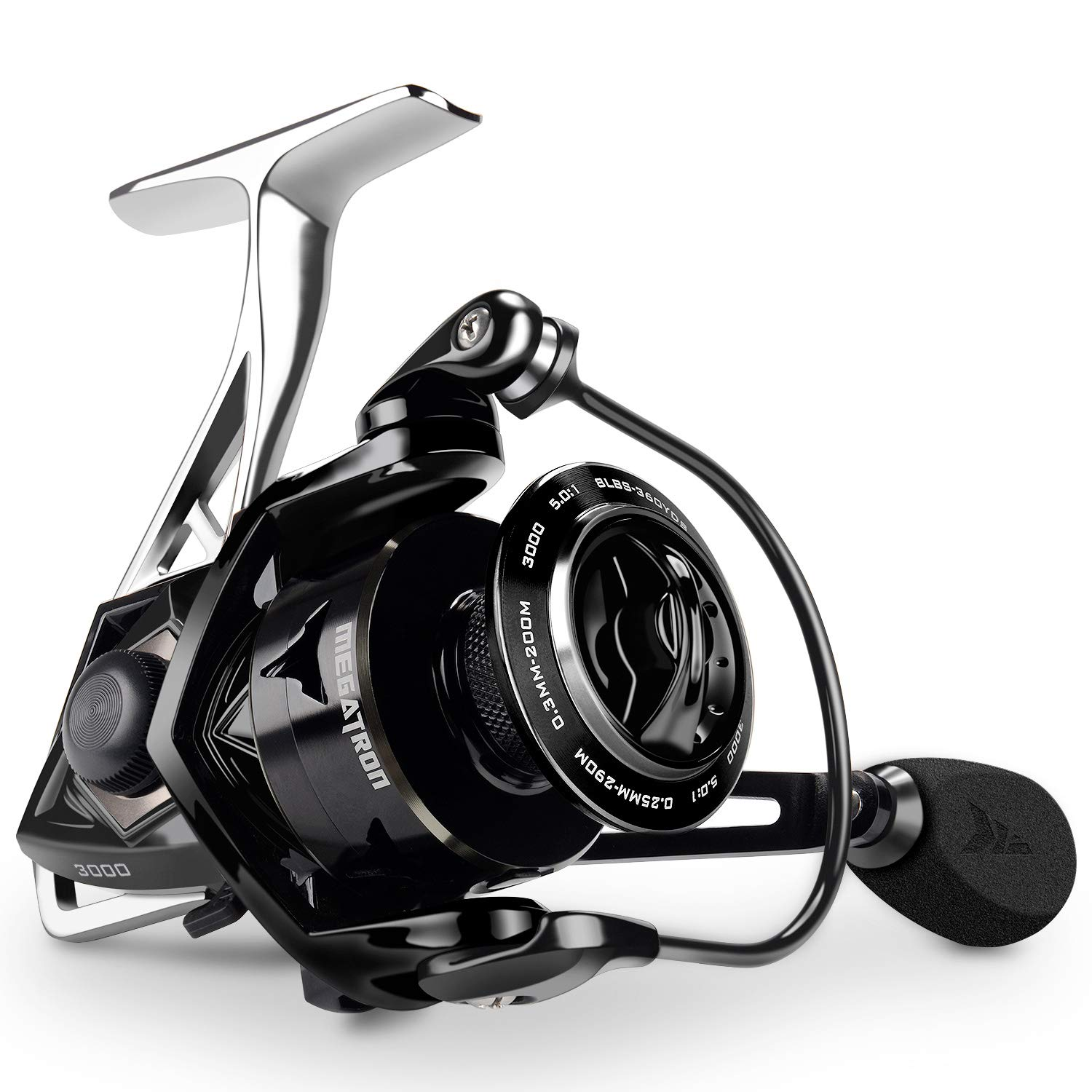 KastKing Megatron Spinning Reel,Size 2000 Fishing Reel