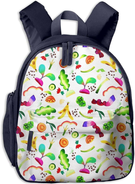 School Backpack for for for Girls Boys, Kids Cute ColGoldt Glowing Fruit Cartoon Backpacks Book Bag B07LGXDP21  Ausgezeichnete Leistung 2faa7e