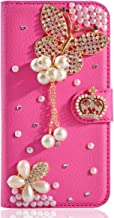 Alcatel A3 XL Case, Gift_Source [Card Slot] Glitter Bling Crystal Rhinestone Magnetic Wallet PU Leather Purse Case Flip St...