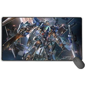 futurecos Mobile Suit Gundam Gaming Mouse Pad Mat Large Anime Wing Gundam Zero XXXG-00W0 Mousepads Extended XL