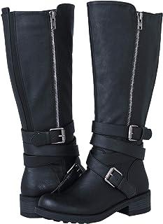 a74bedb288a Amazon.com  Riding - Mid-Calf   Boots  Clothing