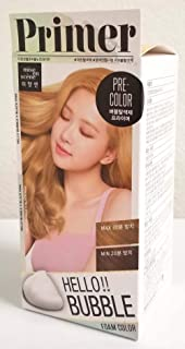 Hair Color Primer, Mise en Scene Hello Bubble Foam Color Easy Hair Bleach Amore Pacific Korean Self Hair Coloring