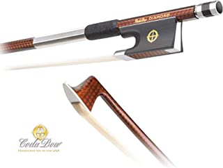 Coda Bow DGA4 Diamond GX Carbon Fiber 4/4 Violin Bow
