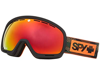 Spy Optic Marshall (Camo Happy Gray Green w/ Red Spectra+Happy Yellow w/ Lucid Green) Snow Goggles
