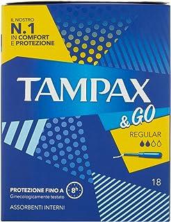 Tampax Regular 18 pads