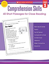 Best short reading comprehension passages 1st grade Reviews