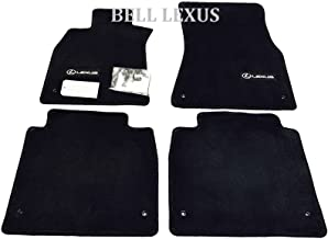 LEXUS OEM FACTORY FLOOR MAT SET 2009-2012 LS460L BLACK AWD LWB