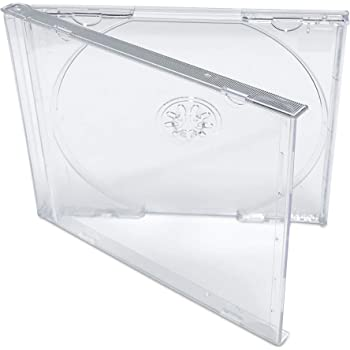 #CDIS80CL 25 also snaps into the Chubby Jewel Boxes! Fits any standard size 10mm Jewel Box Clear Replacement CD Trays // Inserts for CD Jewel Boxes