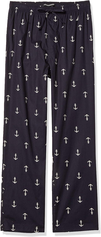 Nautica Men's Nautica Men's Comfort Space Dye Sleep Pants Sleepwear, -navy, Small