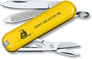 Victorinox Swiss Army Classic SD Pocket Knife, Gadsden Flag, 58mm