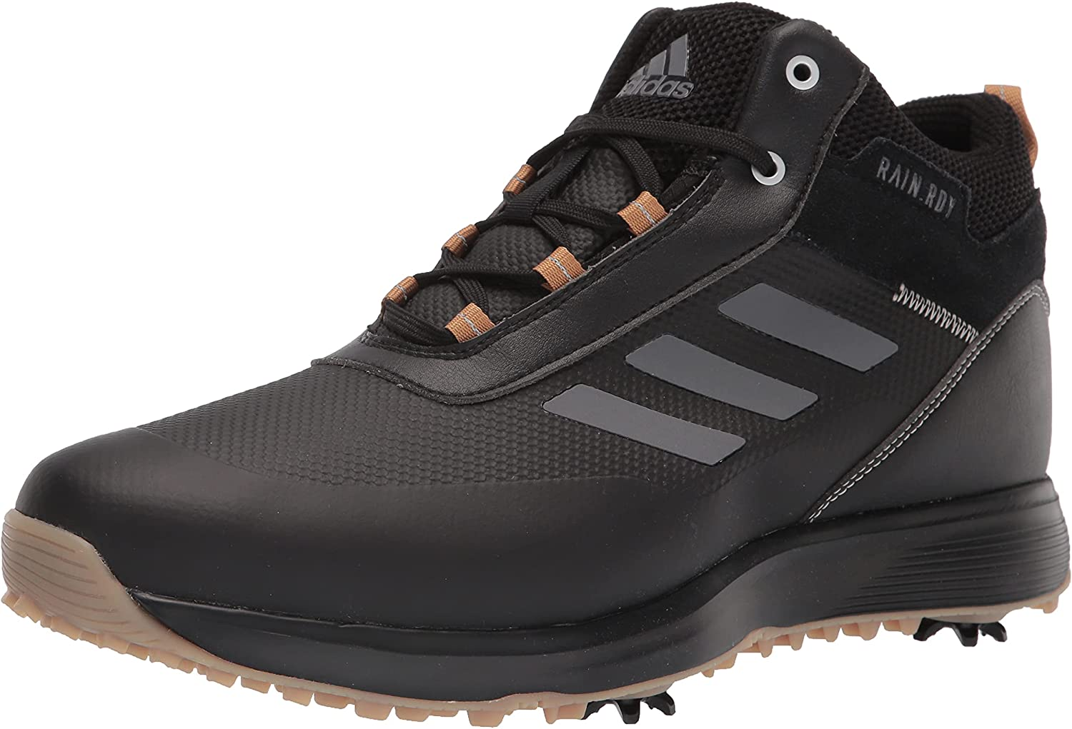 adidas Men's Great interest Super sale period limited S2g Recycled Polyester Shoes Cut Golf Mid