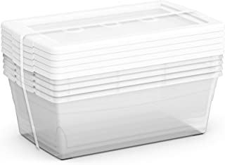 clear shoe boxes canada