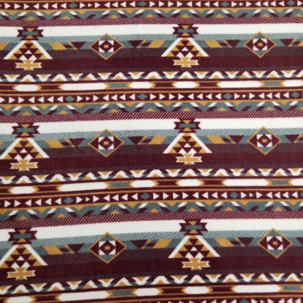 Pico Textiles Southwest Aztec Courier Manufacturer OFFicial shop shipping free Burgundy 60