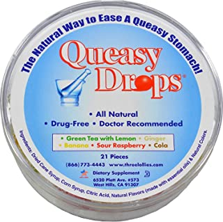Three Lollies Queasy Drops Container - 21 Ct, 3 Pack (Image May Vary)