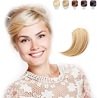 Clip-in Side Fringe Extension Piece by Hollywood Hair Extensions (Light Blonde)
