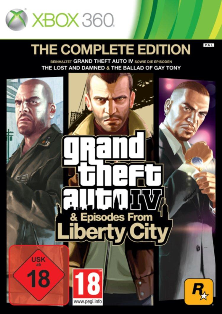Grand Theft Auto IV Complete Edition - Microsoft Xbox 360: Amazon.es: Videojuegos