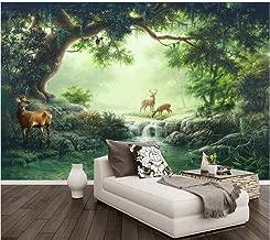 W 200x H 100CM YSJHPC Personalizado 3D Mural Habitaci/ón infantil de dibujos animados camino de setas del bosque de hadas Papel pintado Auto-adhesivo PVC A casa Decoraci/ón Para Zona de Dormitorio Pa
