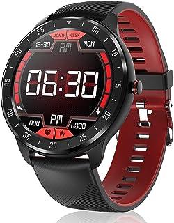 CanMixs Smartwatch, Reloj Inteligente IP67 Pulsera Actividad Hombre y Mujer, CM13 Deportivo Reloj Fitness con Pantalla Táctil Completa Pulsómetro, Monitor de Sueño, Podómetro, para iOS y Android