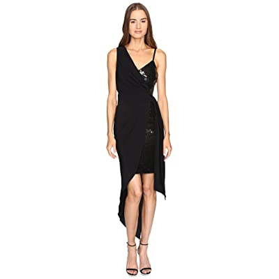 Boutique Moschino Cocktail Dress with Sash (Black) Women