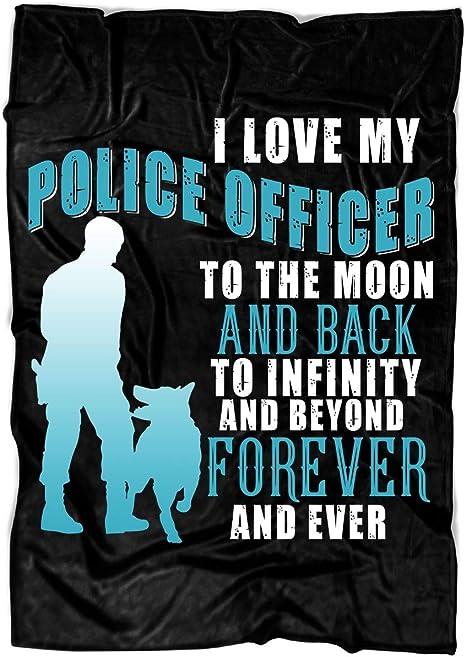 Police Fleece Blanket