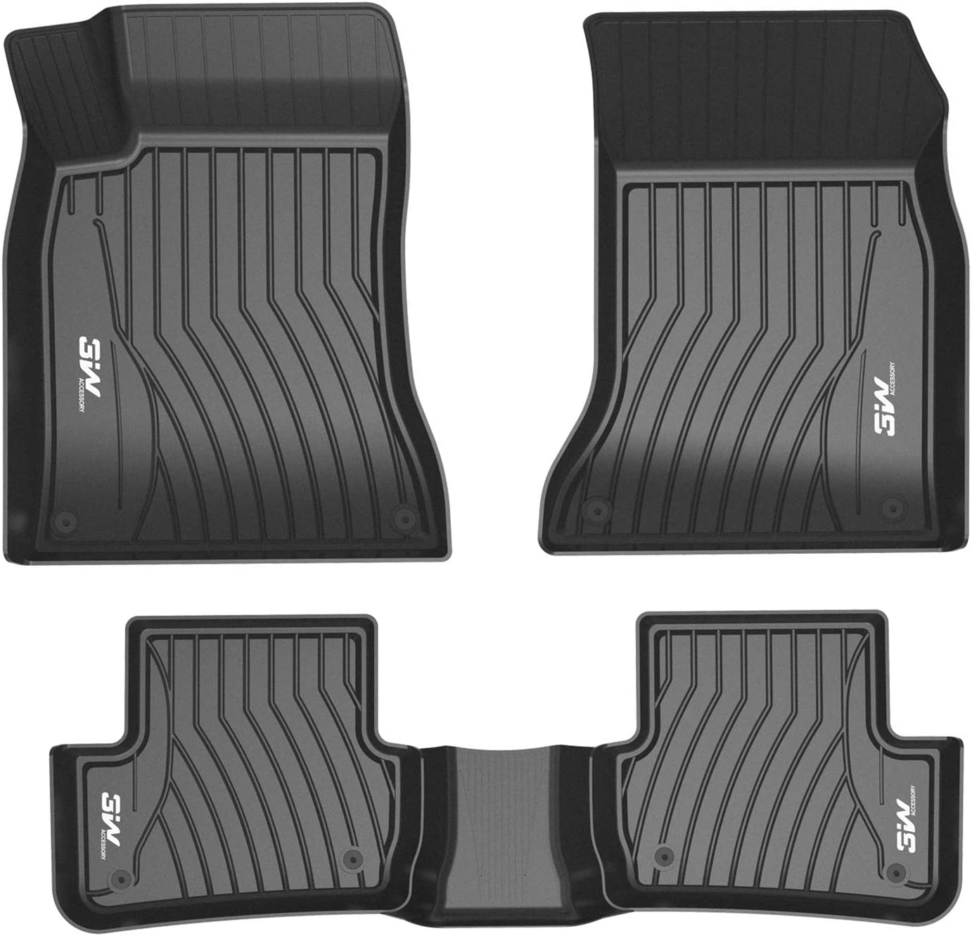 OFFer 3WFloorMatsCompatible forBenz GLE 2016-2019 Inexpensive Cust