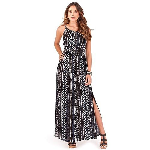 f392b7e8f4 Pistachio Womens Tie Dye Sleeveless Maxi Or New Ladies Summer Beach Swing  Dress