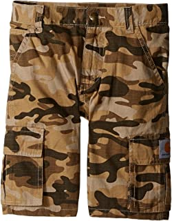 Carhartt Boys ' Cargo Short Tan Camo