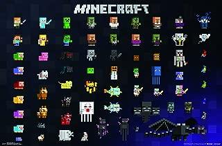 Trends International Minecraft - Sprites 2.0 Wall Poster, 22.375