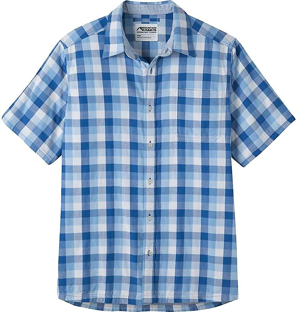 Mountain Khakis Direct store Men's Two Sleeve Shirt Short lowest price Ocean