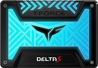Team RGB(発光型) SSD DELTA Sシリーズ 1TB SATA3接続 2.5インチ 9.5mm厚 12V RGB Header専用 Black 日本国内3年保証 正規品