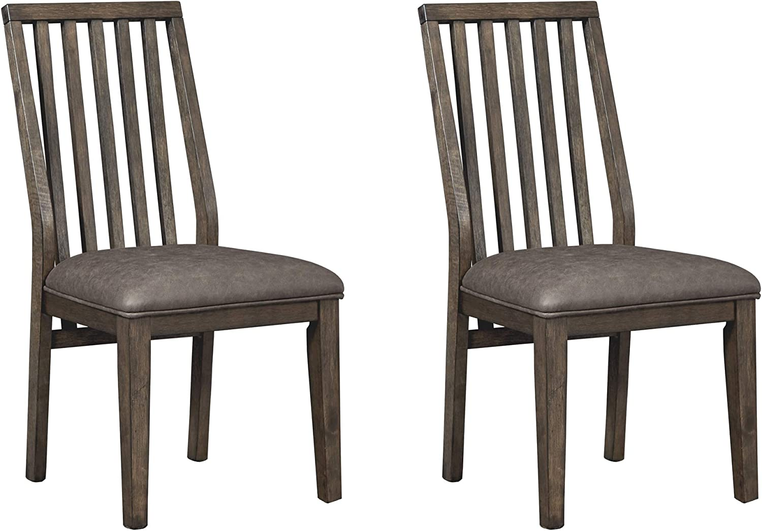 Signature Design by Ashley 2021 model Kisper 35% OFF Dining Brown Chair Room