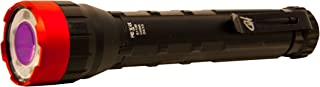 CCB Primos Bloodhunter HD Pocket Flashlight Blood Tracking LED with 2 AA Batteries Polymer Black and Red