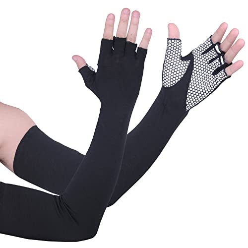 Apparelsales Mens and Womens Nylon Sun Protection Cycling Arm Sleeves Covers Oversleeves