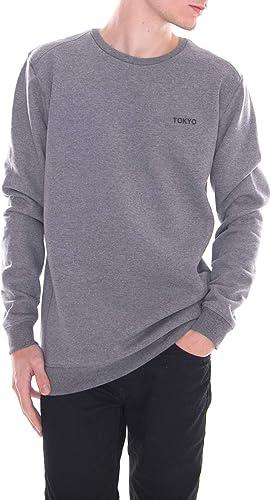 Solid - Sweat-Shirt - Sean Melange gris