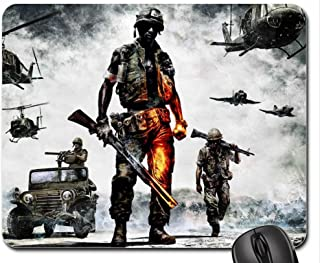 BATTLEFIELD: BAD COMPANY 2 - VIETNAM Mouse Pad, Mousepad (10.2 x 8.3 x 0.12 inches)