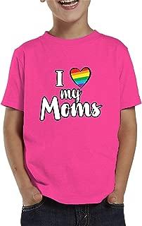 I Love My Moms Toddler T-Shirt