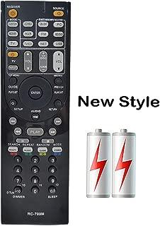 PROROK Remote Control RC-799M Compatible for ONKYO Home Theater HT-R391 HT-R548 HT-R558 HT-R590 HT-R591 HT-RC330 HT-RC430 HTS-3500 HT-S5400 HT-S5500 TX-SR309 TX-SR313 TX-NR616 TX-NR626