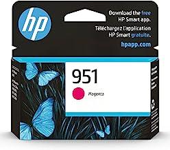 Original HP 951 Magenta Ink Cartridge | Works with HP OfficeJet 8600, HP OfficeJet Pro 251dw, 276dw, 8100, 8610, 8620, 863...