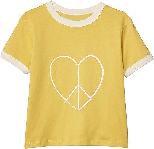 Corn Silk/Peace Heart