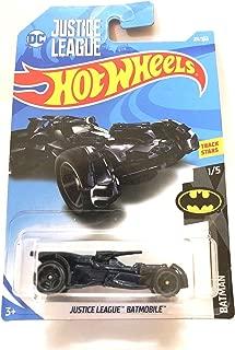 Hot Wheels 2018 50th Anniversary Batman DC Justice League Batmobile 211/365, Black