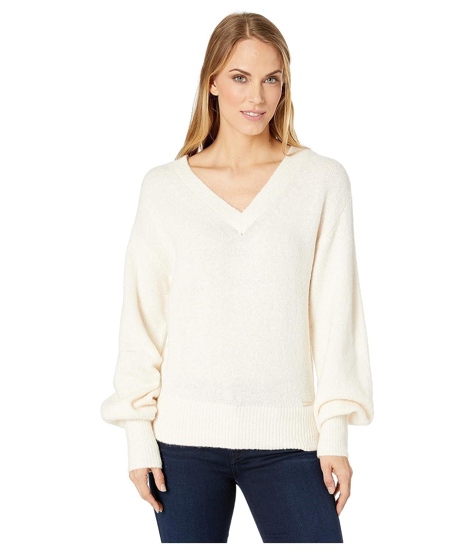 [マイケルコース] レディース ニット&セーター V-Neck Big Sleeve Sweater [並行輸入品]