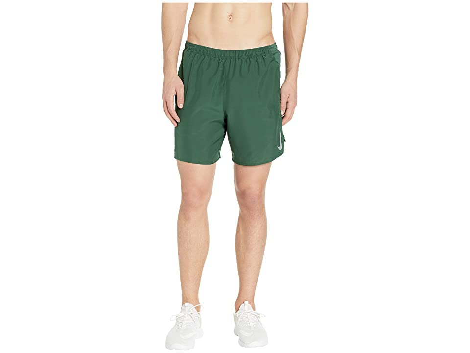 Nike Challenger Shorts 7 BF (Fir/Fir/Reflective Silver) Men